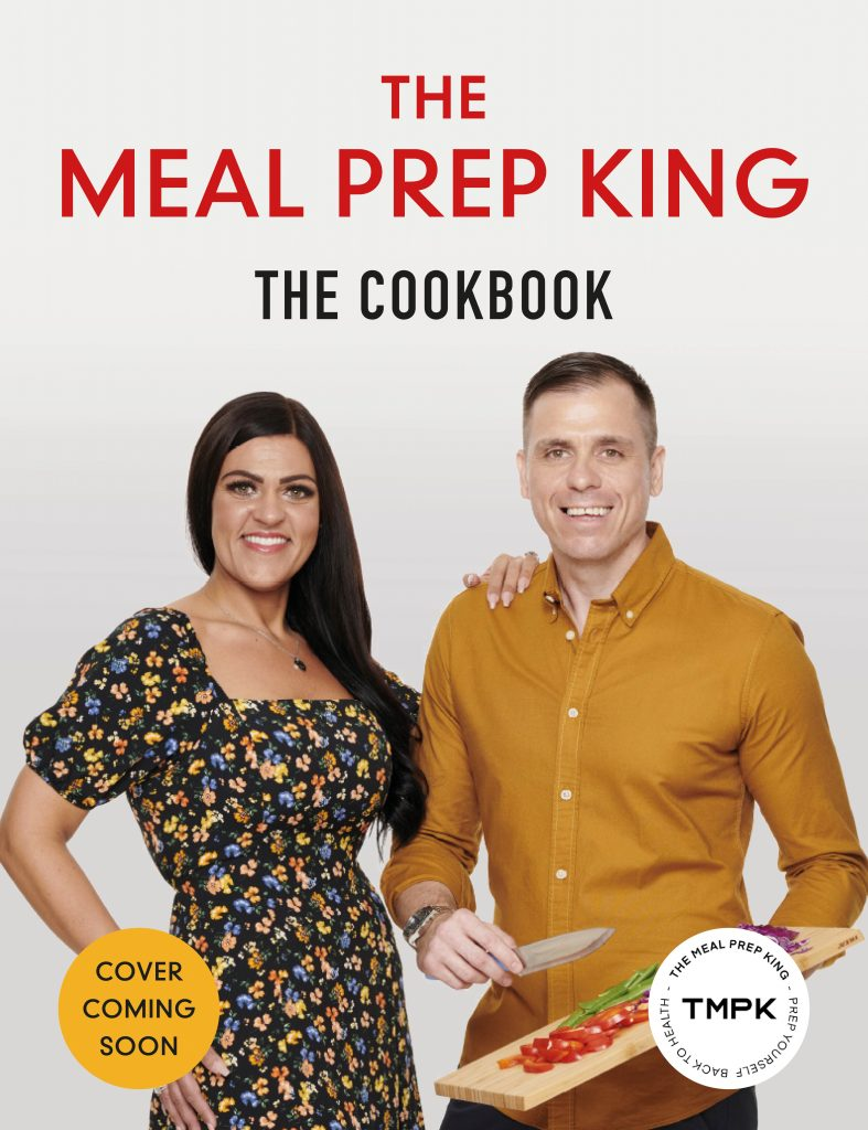 thr meal prep king book cover